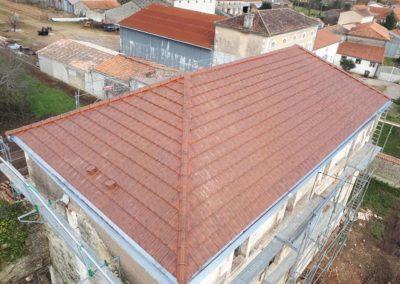 Couverture refaite par Gomet toiture en Charente-Maritime 17